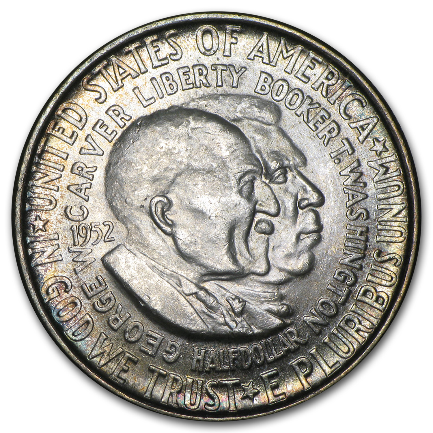 1952 Washington-Carver Half Dollar MS-65